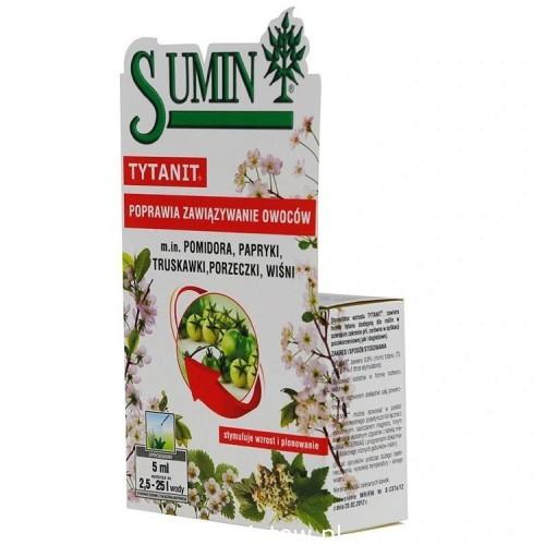 SUMIN TYTANIT poprawia zawiązywanie owoców 5ml