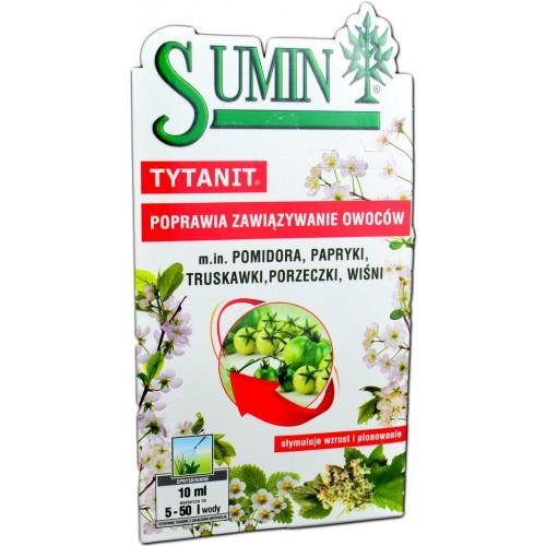 SUMIN TYTANIT poprawia zawiązywanie owoców 10ml