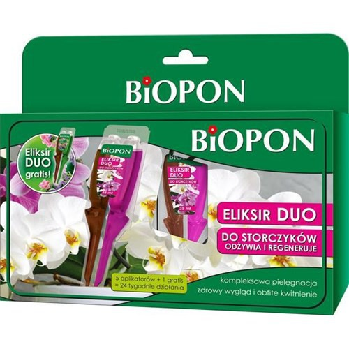 Biopon Eliksir Duo odżywka do storczyków 5*35ML