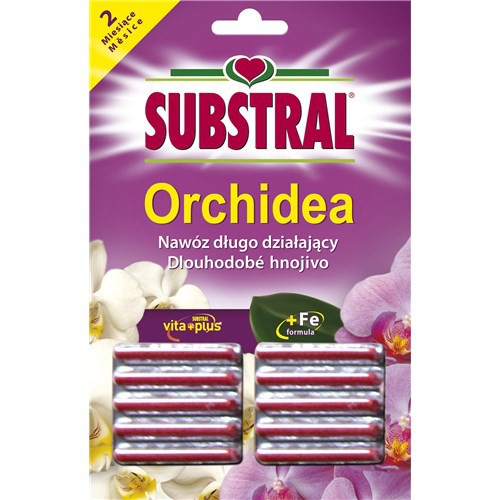 SUBSTRALPałeczki nawozowe do orchidei - storczyka 10sztuk