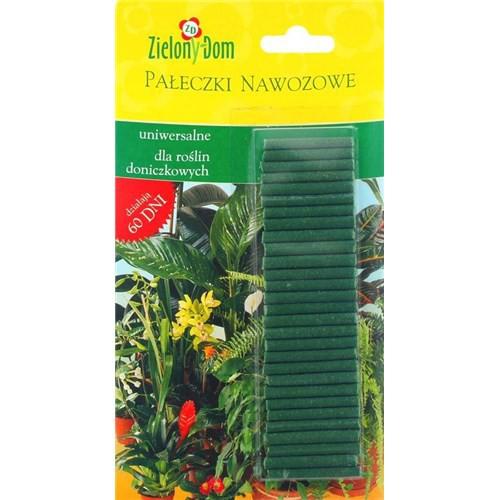 Zielony Dom-Pałeczki nawozowe uniwersalne dla roślin doniczkowych  50 sztuk