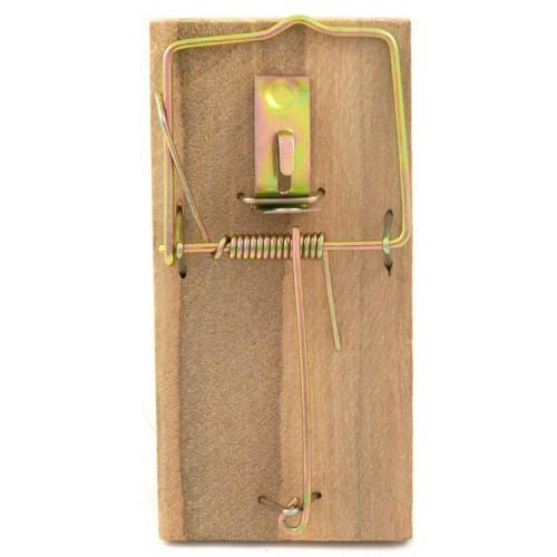 BROS - łapka na myszy drewniana 2 sztuki