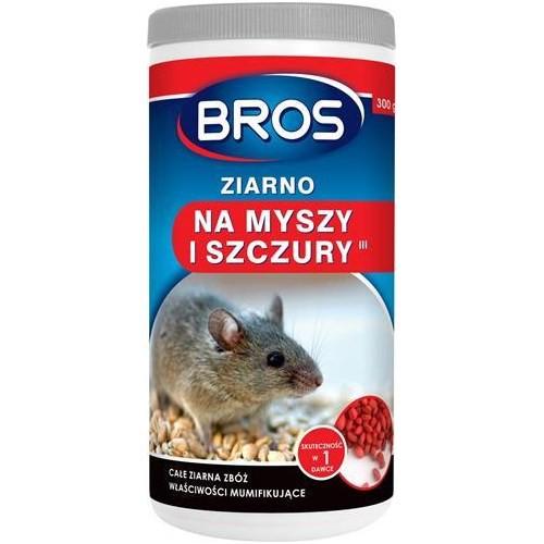 BROS - Ziarno na myszy i szczury 300g