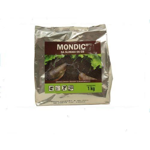 Mondic 1kg -skutecznie zwalcza ślimaki