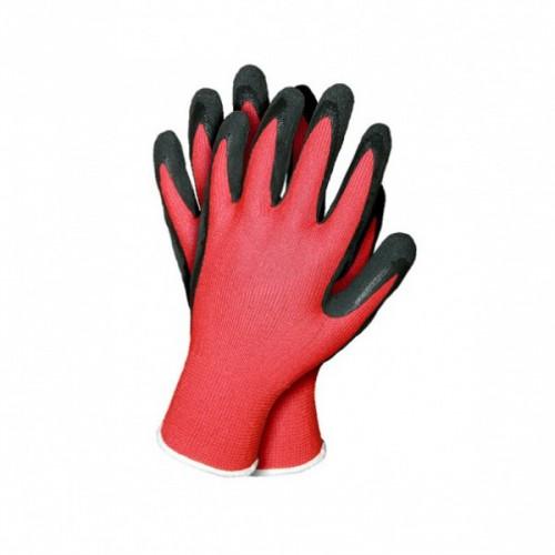 Rękawice ochronne robocze  RTELA czerwone